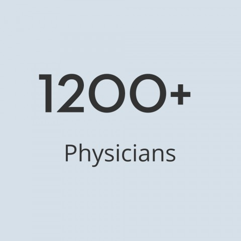 1000 physicians